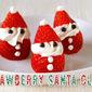 Strawberry Santa Claus for Christmas - Video Recipe