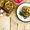 Mushroom, Apple, and Walnut Stuffed Acorn Squash