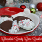 Chocolate Candy Cane Cookies - Holiday Entertaining Guide