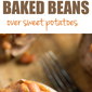 Slow Cooker Baked Beans with Ham