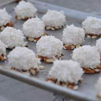 Almond Coconut Christmas Balls Recipe