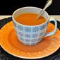 Simple Butternut Squash Soup; doggie family news