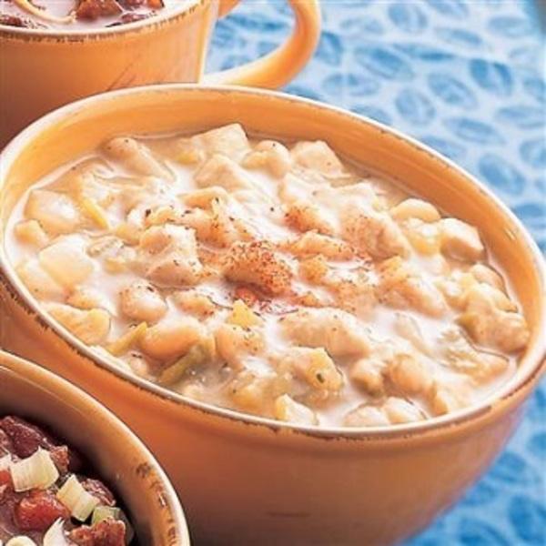 Weight Watchers Crock Pot Ideas: Crockpot White Chicken Chili Recipe By RecipeKing