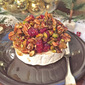 Baked Brie with Dried Fruits and Nuts