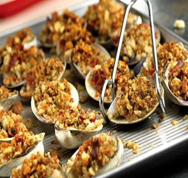Stuffed Clam Appetizers