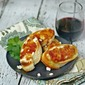 Soft Cheese and Jam Bruschetta