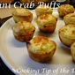 Mini Crab Puffs