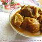 Mangshor patla jhol / A light, soupy mutton curry