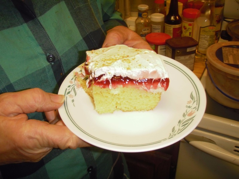 A REAL CHERRY CHEESE CAKE