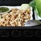 Thai Style Chicken Lettuce Wraps