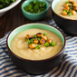 Miso Potato Soup with Crispy Chickpeas