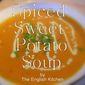 Spiced Sweet Potato Soup