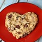 Oat Toffee Cherry Chocolate Cookie
