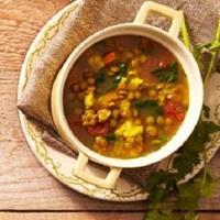 Moroccan Lentil Soup