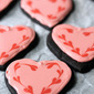 Chocolate Valentine Sugar Cookies | #CreativeCookieExchange