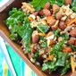 Kale Salad with Farro and Honey Dijon Dressing