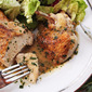 Pan-Roasted Chicken Breasts With White Wine Sauce