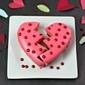 Broken Heart Cake