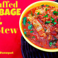One Pot Whole30 Unstuffed Cabbage Roll Stew