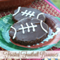 Shortcut Frosted Football Brownies