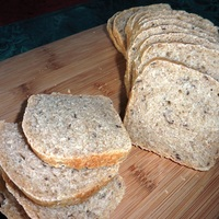 Cocktail Rye Bread (with Bread Machine Dough-Making Option)
