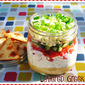 Stonyfield Clean Plate Club: Layered Greek Dip...Featuring Ball Canning Jars #CleanPlateClub