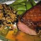 Pan Fried Duck Breasts With Orange Glaze