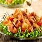 Grilled Chicken-Melon Salad