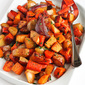 Tart Cherry Glazed Roasted Root Vegetables Recipe