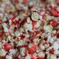cinnamon heart candied popcorn