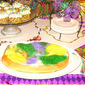 King Cake Bread Pudding + More Mardi Gras Faves