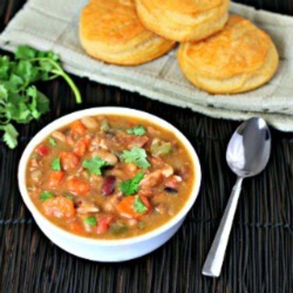 Chunky Turkey 15 Bean Soup
