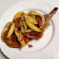 Pork Chops Milanese with Fennel Bacon and Apple Salad