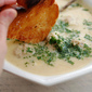 Greek Lemon Soup with Chicken Meatballs and Orzo (Avgolemono)