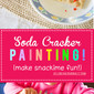 Soda Cracker Painting