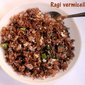 Ragi vermicelli upma – how to make ragi semiya upma recipe – millet recipes