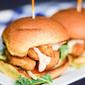 Easy Shrimp Po Boy Sliders #ShrimpItUp #ad