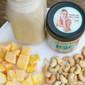 Mango Spice Cashew Butter Smoothie