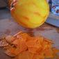 Orange Cake with Mascarpone Frosting, Pomegranate Seeds, and Candied Orange Peel