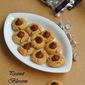 Eggless Peanut Blossom Cookies/Peanut Butter Blossom Cookies