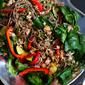 Soba Noodle, Turkey & Spinach Salad Recipe
