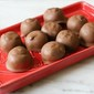 Chocolate Dipped Almond Butter Truffles