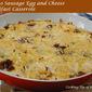Potato Sausage Egg and Cheese Breakfast Casserole