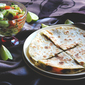 Ground Beef Quesadilla with Cheese