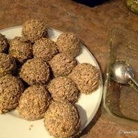 LENTIL and MUSHROOM mix Meatball Patties {baked}