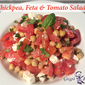 Chickpea Feta & Tomato Salad