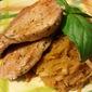 Gluten Free Seared Pork Loin w/ Chinese Black Tea and Lemon Pan Sauce