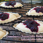 Cranberry-Partridge Berry Cheesecake Tarts