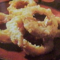 Potato Chip Coated Baked Onion Rings
