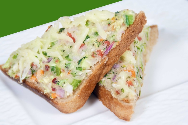 Easy Rock Cheese Toast - Crispy Veg Rava Appetizer |Quick Suji Bread Toast